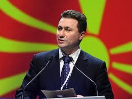 Prime Minister of Macedonia Nikola Gruevski