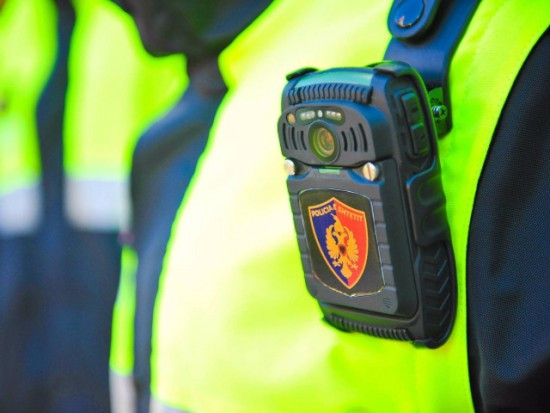 albanian police body cameras by Internal ministry