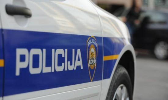 21.10.2013., Sibenik - Policija kontrolira promet na gradskim ulicama. Photo: Hrvoje Jelavic/PIXSELL