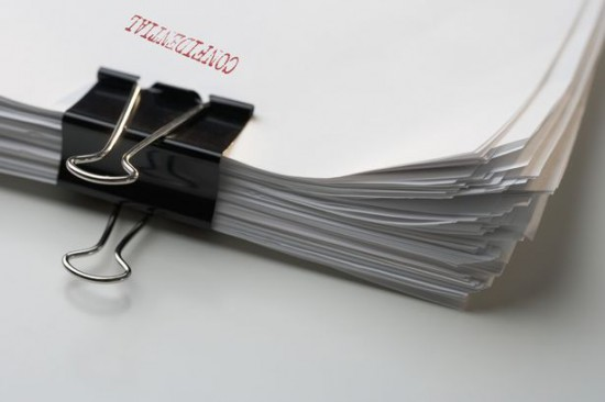 A-stack-of-confidential-papers
